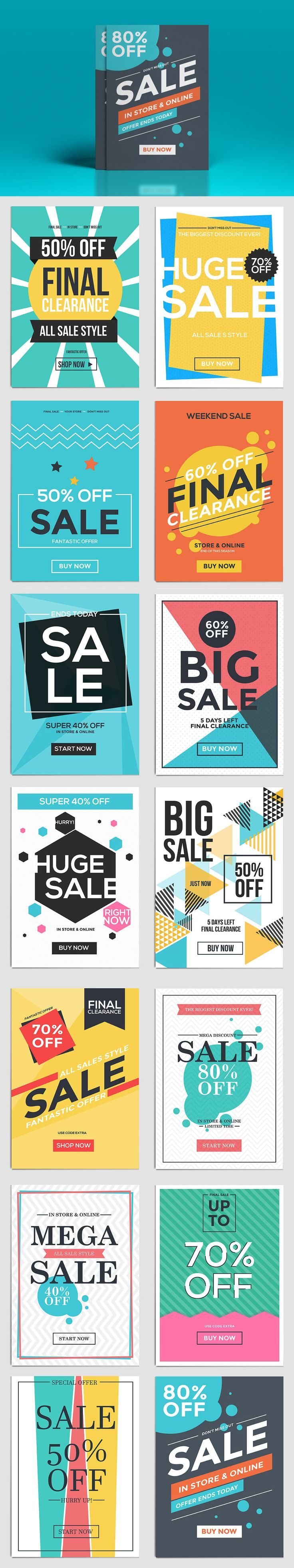 Poster 60 x 80 design - Poster 60 X 80 Design Flat Design Sale Flyer Template Ai Eps Download