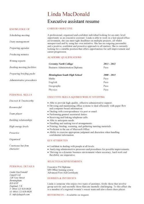 purchasing agent sample resume