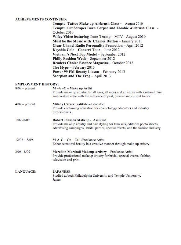 Cosmetologist Resume Hair Stylist Resume Hair Stylist Resume - cosmetologist resume sample