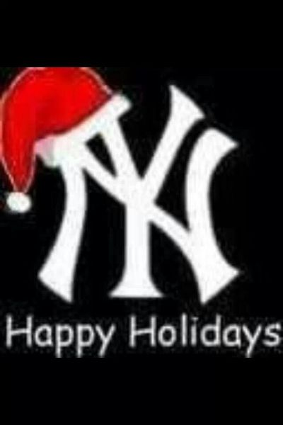 1000+ images about New York Yankees Happy Holidays on Pinterest   Baseball wreaths, Christmas ...