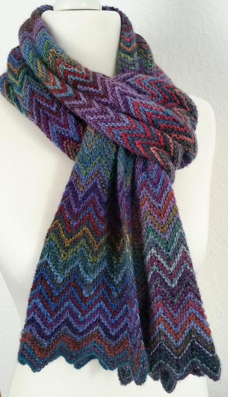25+ best ideas about Knit Scarves on Pinterest