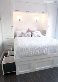25+ Best Ideas about Small Bedroom Storage on Pinterest ...