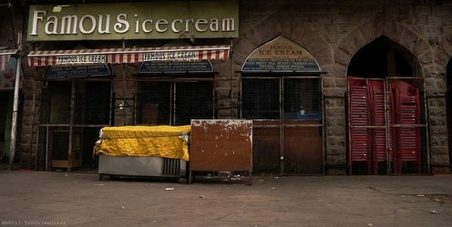 Famous Ice Cream @Mozzam Jahi Market, HYDERABAD