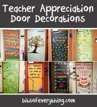 138 best images about teacher appreciation doors on ...
