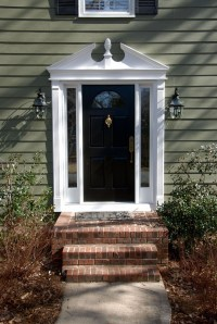 1000+ images about Front Door Pediment on Pinterest ...