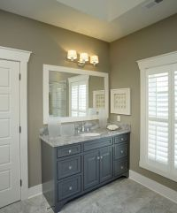 25+ best ideas about Gray vanity on Pinterest | Grey ...