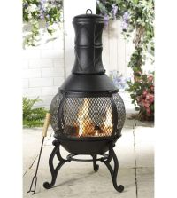 25+ best ideas about Chiminea Fire Pit on Pinterest   Used ...