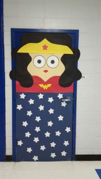 25+ best ideas about Superhero Door on Pinterest
