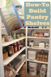 Diy Kitchen Pantry Shelves | www.pixshark.com - Images ...