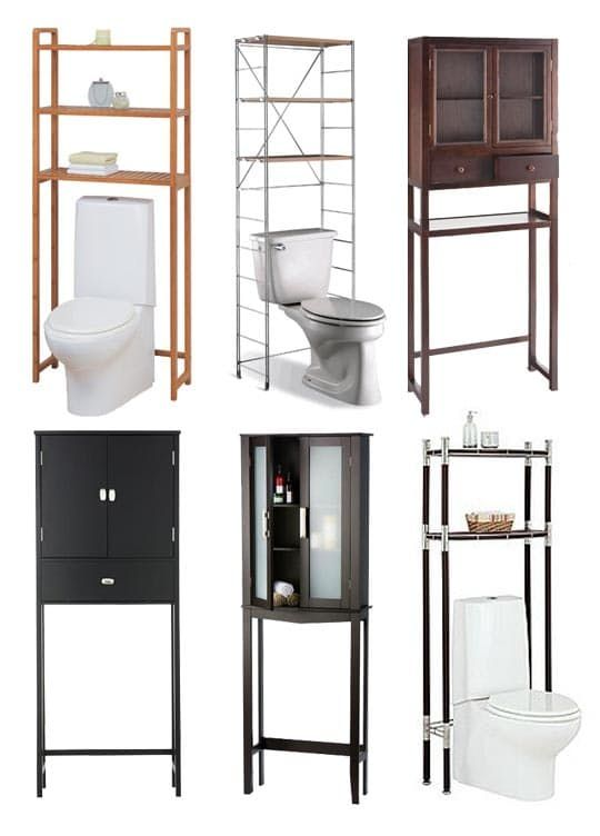 Bathroom Space Saver Ikea 1000+ Ideas About Shelves Over Toilet On Pinterest
