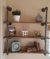 1000+ ideas about Industrial Pipe Shelves on Pinterest ...