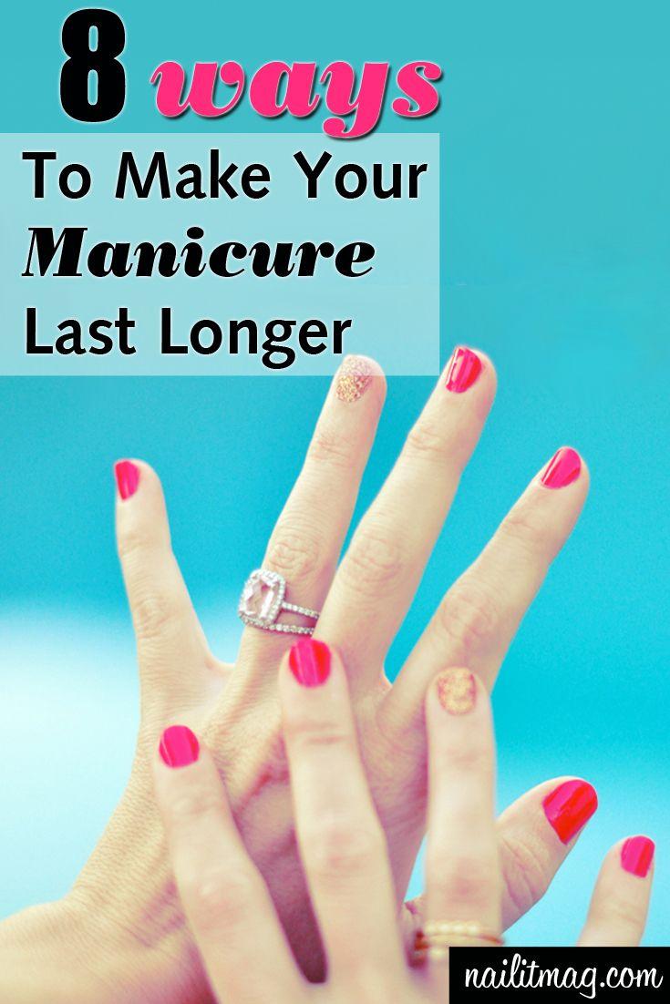 8 Ways To Make Your Nail Polish Last Longer With No