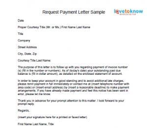 request payment letter | ACCOUNTING | Pinterest | Tags and Letters