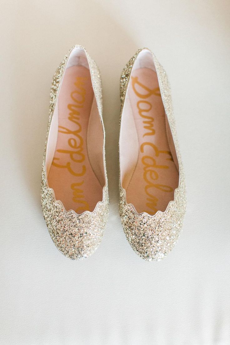 sparkle wedding shoes wedding slippers Boho Sky Blue Celebration at Encanterra Country Club Bridesmaid Shoes FlatBlush Wedding
