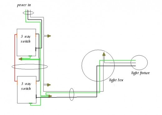 house wiring diagrams three way switch