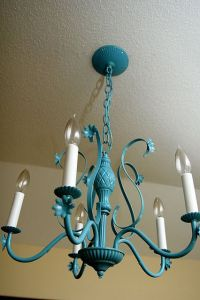 25+ best Spray Painted Chandelier ideas on Pinterest ...