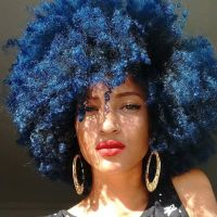 Best 25+ Dyed Natural Hair ideas on Pinterest | Colored ...