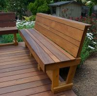 25+ best ideas about Deck Benches on Pinterest