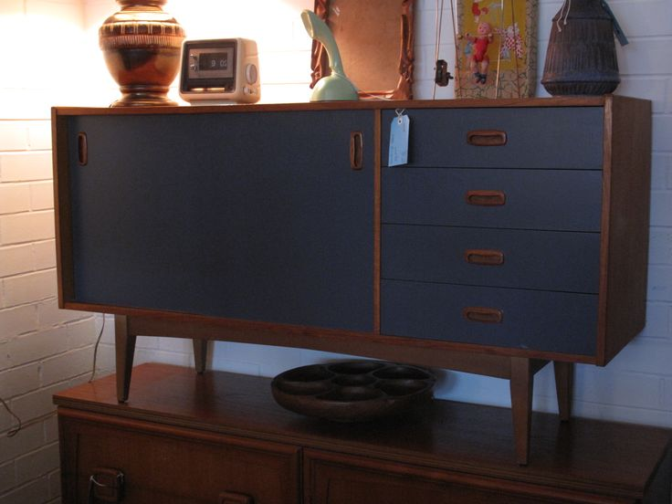 Teak Buffet Sideboard Upcycled Danish Style Sideboard $650 | Fresh Pics Of Our