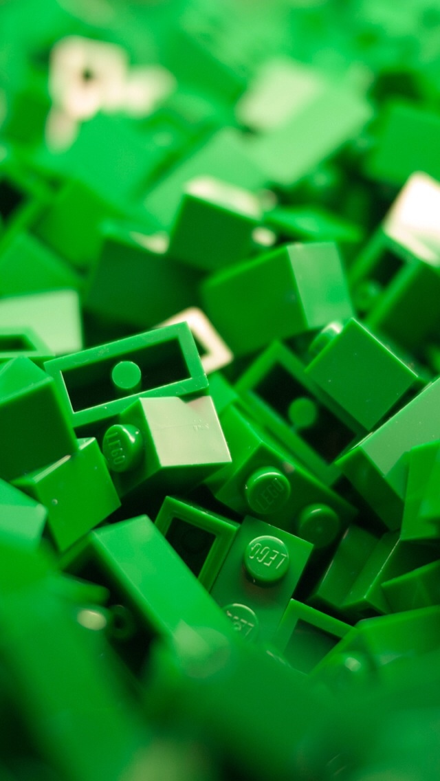 Free 3d Pile Of Bricks Wallpaper Green Lego Iphone 5 Wallpaper Iphone 5 Wallpapers