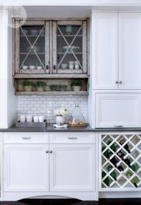 Under Cabinet Wood Wine Rack - WoodWorking Projects & Plans