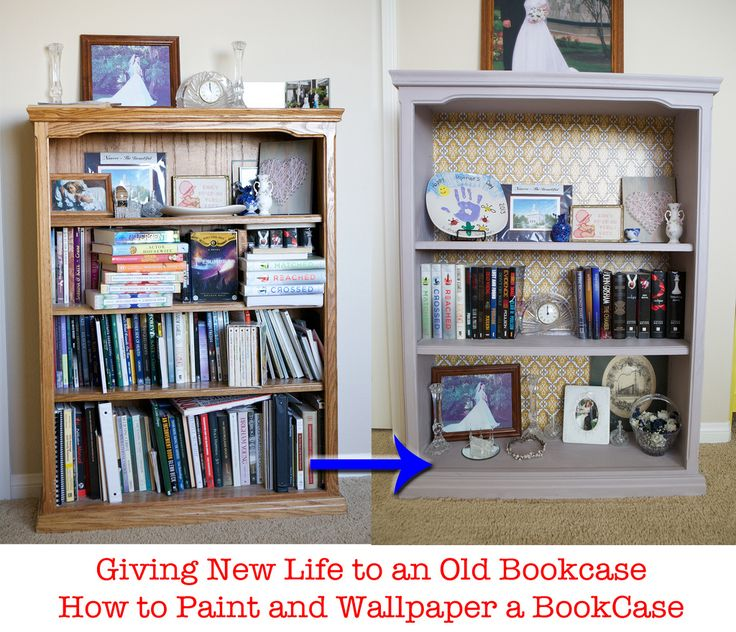 Iphone 6 Cute Shelf Wallpaper Redoing An Old Book Case Painting With Annie Sloan Chalk