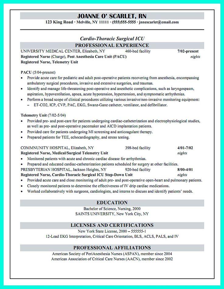 intensive care unit nurse resume critical care nurse resume