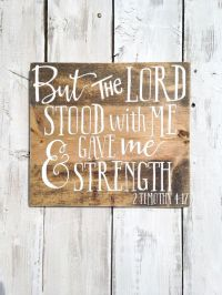 Bible verse on wood bible verse wall art by ...