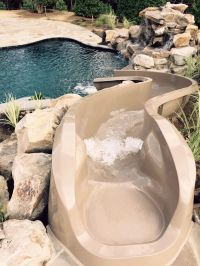 15+ best ideas about Pool Slides on Pinterest | Swimming ...