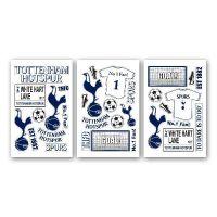 Spurs Wall Sticker Pack | Spurs Shop: Tottenham Hotspur ...