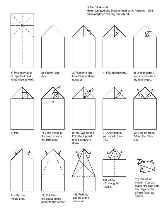 how to fold origami bull from the paper origami diagram of the bull