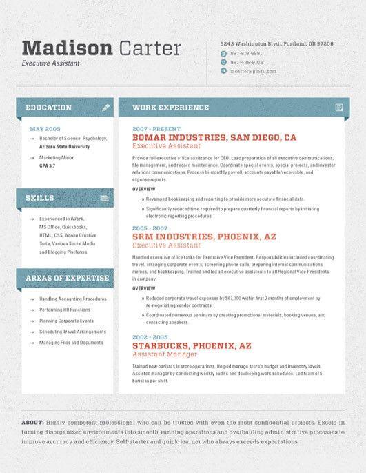 resume format for australia