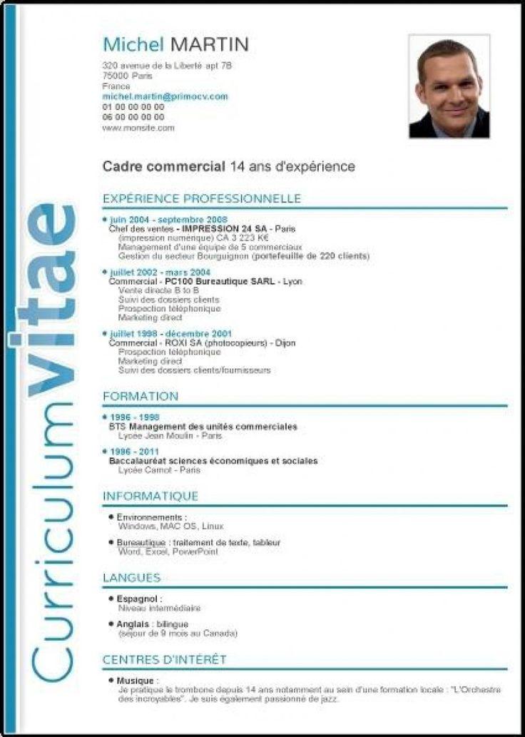 exemple de cv freelance
