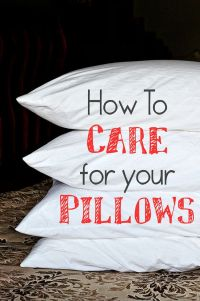 How to Wash Pillows | Them, Wash pillows and Dryers