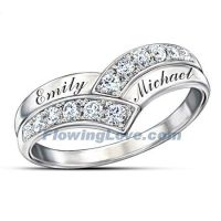 33 best images about Diamond Promise Rings for Couples in ...