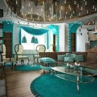 LOVE this teal brown living room | LR ideas | Pinterest ...