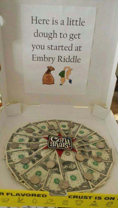 43 Best images about Cash gifts on Pinterest   Creative, Pizza boxes and Gift cards