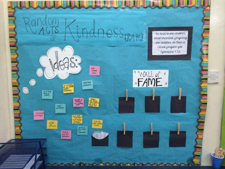 25+ best ideas about Kindness bulletin board on Pinterest