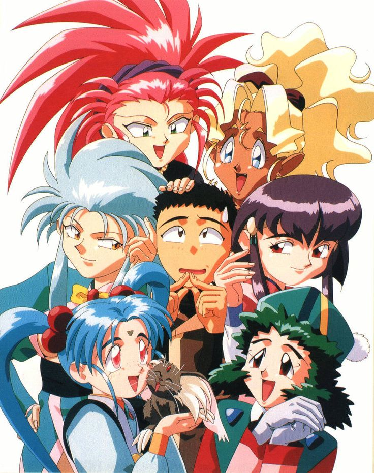 Magical Girl Pretty Sammy Wallpaper 1012 Best Images About Tenchi Muyo ♡ On Pinterest Group