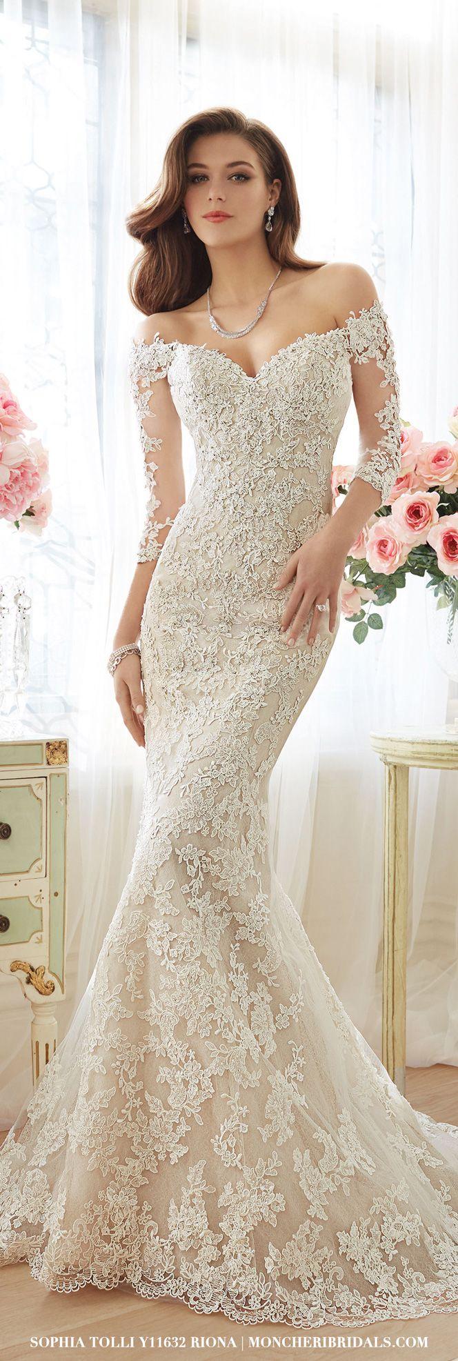 trumpet gown trumpet style wedding dress Y Riona Sexy Wedding DressesSpring