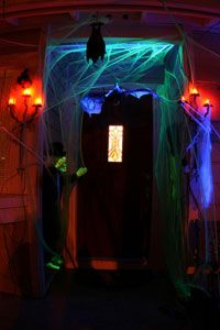 28 best images about Haunted House Black Light Props on