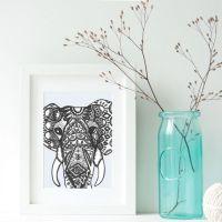 1000+ ideas about Elephant Wall Art on Pinterest ...