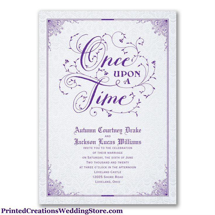 Fairytale Invitations Anarchistshemale