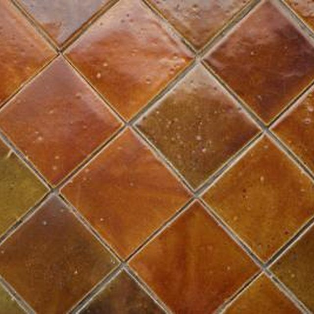 How to Paint on Glazed Ceramic Tile