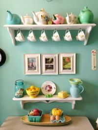 25+ best ideas about Tea cup display on Pinterest | Rustic ...