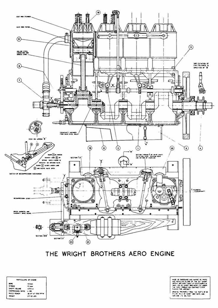 aviation engineering schematics