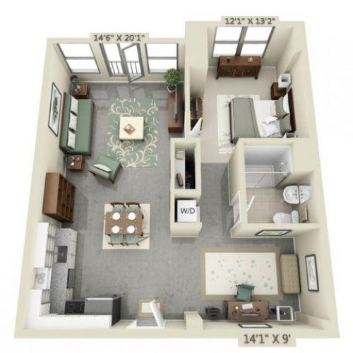 25+ best ideas about Apartment Floor Plans on Pinterest