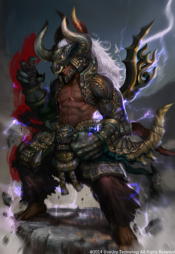 3d Devil Wallpaper Ox Demon King By Weichi Chen Fantasy 2d Cgsociety