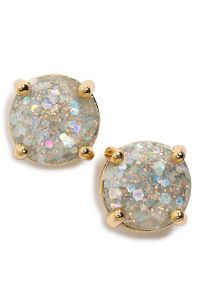 Women's kate spade new york 'mini glitter' stud earrings ...