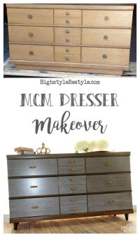 17 Best ideas about Mid Century Dresser on Pinterest | Mid ...